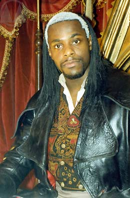 Paterson Joseph as The Marquis de Carabas.