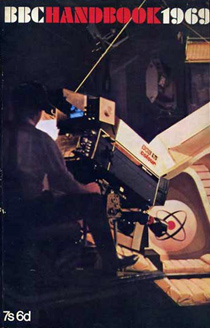 A behind-the-scenes shot from Immortality, Inc. was used on the cover of the 1969 BBC Handbook