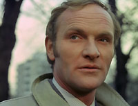 "Julian Glover as jailbird James Hanson in ""Report 2475: Revenge"""
