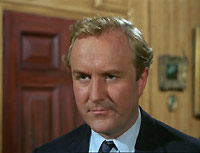 "Robert Hardy as surgeon Michael Sanders in ""Report 4407: Heart"""