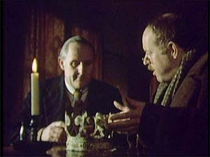 "Peter Vaughan and Clive Swift in ""A Warning to the Curious"""