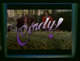 "Alternative title sequence for Cordelia's sitcom (from ""Birthday"")"