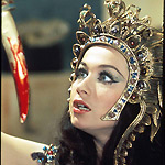 Valerie Leon in Hammer's Blood From The Mummy's Tomb (1971)